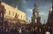 Gabriel Bella Maundy Thursday on the Piazzetta china oil painting reproduction